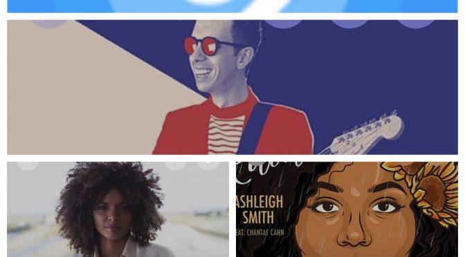 街中で音楽認識アプリSHAZAMを稼働させ、Cory Wong feat Emily C Browning, Maë Defays, Ashleigh Smithのデータにアクセス、曲を改めて楽しめた♪(SHAZAM #26)