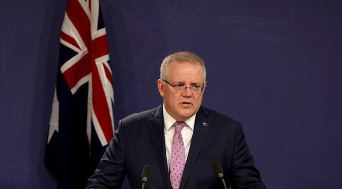 オーストラリア ライフスタイル&ビジネス研究所:スコット・モリソン首相、外国関係法を制定へ。国益見合わぬ合意の破棄可能に