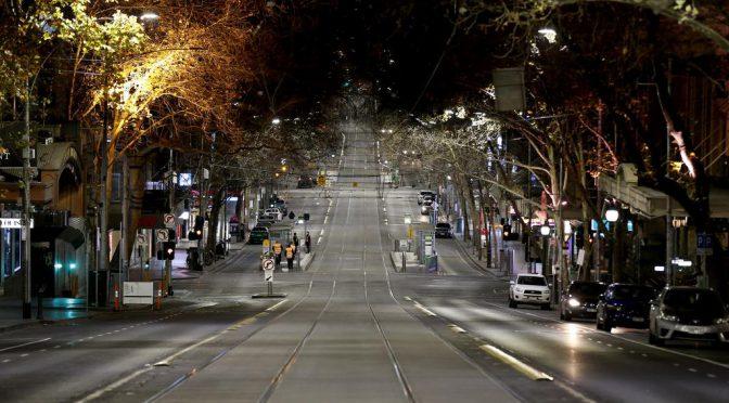 オーストラリア ライフスタイル&ビジネス研究所:ビクトリア州全土ステージ3、メルボルン都市圏はステージ4