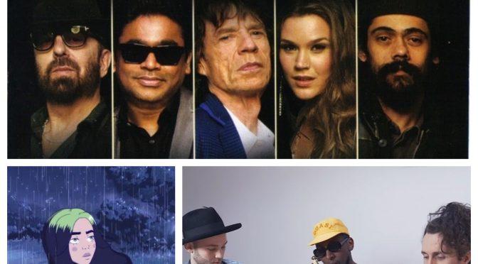 J-WAVEな日々に魅了された曲紹介 PART 124 〜 Brasstracks – Samm Henshaw, SUPER HEAVY & Billie Eilish