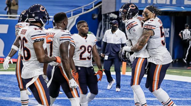 シカゴ・ベアーズ、土壇場綱渡りの逆転劇でシーズン白星発進:NFL 2020シーズン 第1週