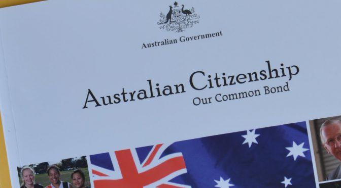 オーストラリア ライフスタイル&ビジネス研究所:市民権テスト見直し、国の中心的価値を質問