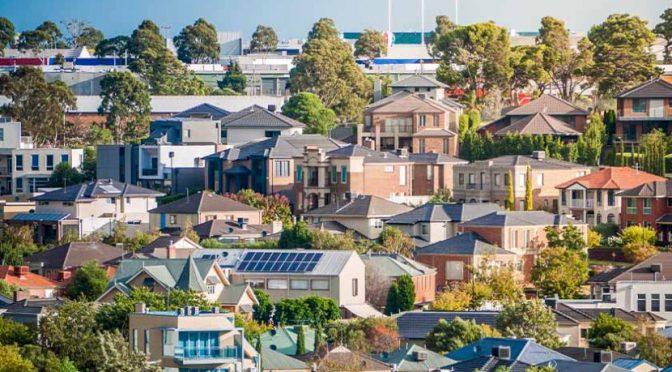オーストラリア ライフスタイル&ビジネス研究所:一戸建ての価格上昇率、集合住宅を凌ぐ