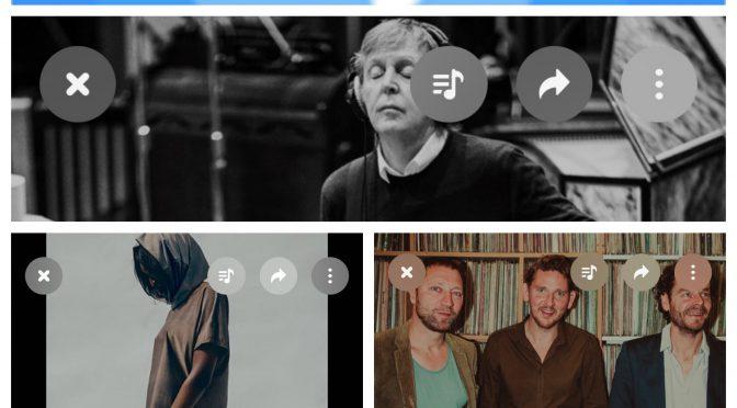 街中で音楽認識アプリSHAZAMを稼働させ Paul McCartney, Germans, Kraak & Smaak のデータにアクセス、曲を改めて楽しめた♪(SHAZAM #33)