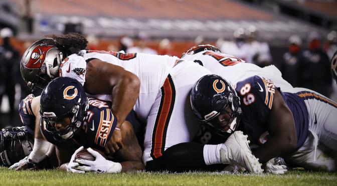 シカゴ・ベアーズ、しぶとく逃げ切って上々の4勝1敗:NFL 2020シーズン 第5週