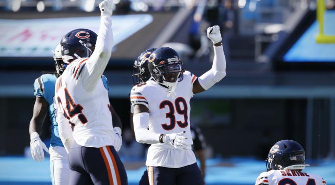 シカゴ・ベアーズ、しぶとく逃げ切って5勝1敗:NFL 2020シーズン 第6週