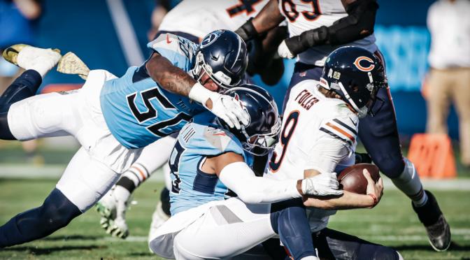 シカゴ・ベアーズ、失速感否めない3連敗で5勝4敗:NFL 2020シーズン 第9週
