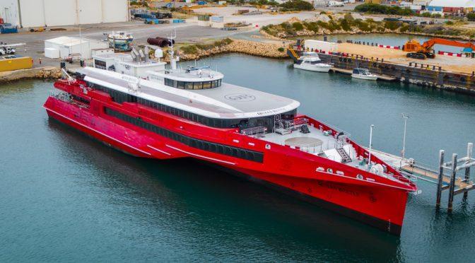 オーストラリア ライフスタイル&ビジネス研究所:オーストラリア製新型高速船「クイーンビートル」博多港で公開