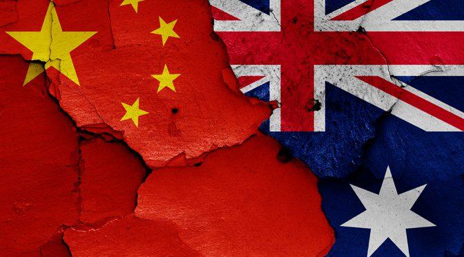 オーストラリア ライフスタイル&ビジネス研究所:激しさ増す対中関係