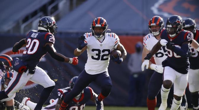 シカゴ・ベアーズ、快心のゲームで連敗街道抜ける6勝目:NFL 2020シーズン 第14週
