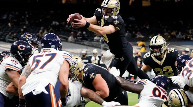 シカゴ・ベアーズ、ジェットコースターシーズンはプレーオフ初戦で終戦:NFL 2020シーズン ワイルドカード・ウィークエンド