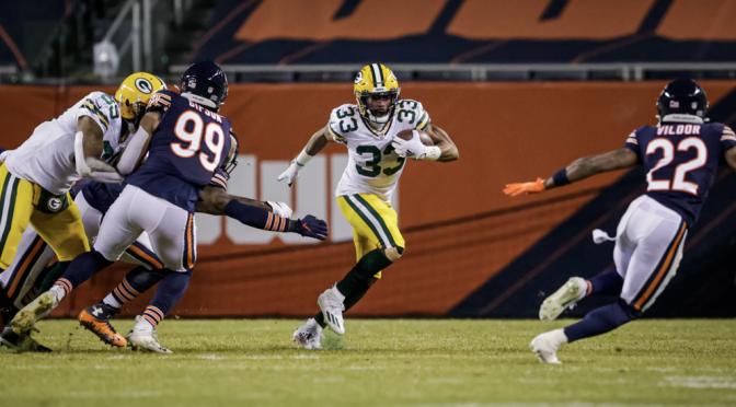 シカゴ・ベアーズ、力の差を見せつけられるも第7シードでプレーオフ進出:NFL 2020シーズン 第17週