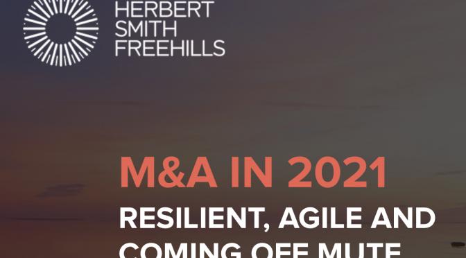 オーストラリア ライフスタイル&ビジネス研究所:2020年 日本企業とのM&A減少も、2021年は前向き