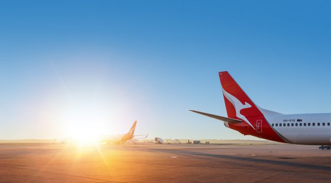 オーストラリア ライフスタイル&ビジネス研究所:カンタス 2021年4〜6月期の見通し、コロナ禍前の9割に回復