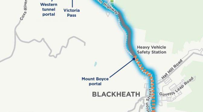 オーストラリア ライフスタイル&ビジネス研究所:ブラックヒースからビクトリア峠まで11kmトンネル計画