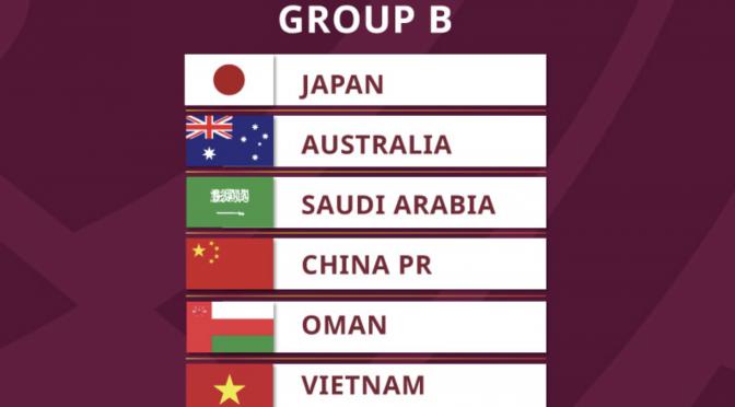 オーストラリア ライフスタイル&ビジネス研究所:Socceroos、FIFAワールドカップカタール2022アジア最終予選、日本らと同組