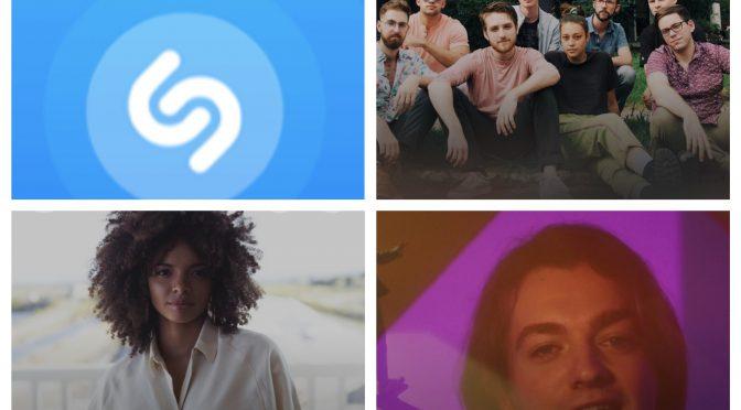 街中で音楽認識アプリShazamを稼働させ Maë Defays, Reliably Bad & Dayglow のデータにアクセスして曲を改めて楽しめた♪(SHAZAM #68)