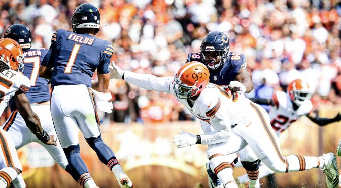 シカゴ・ベアーズ、またも力の差を感じさせられたゲームでシーズン2敗目を喫す:NFL 2021シーズン 第3週