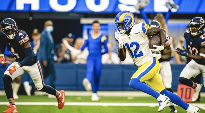 シカゴ・ベアーズ、力の差を感じさせられた黒星発進:NFL 2021シーズン 第1週