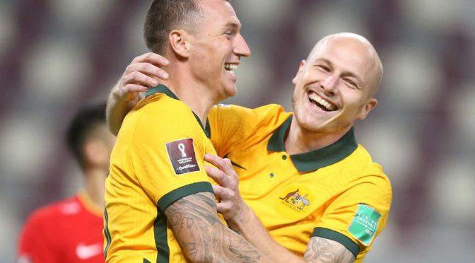 オーストラリア ライフスタイル&ビジネス研究所:Socceroos、FIFAワールドカップカタール2022予選初戦 中国代表に3-0で完勝