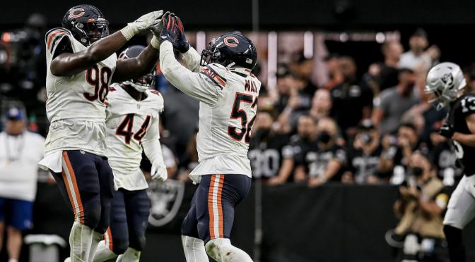 シカゴ・ベアーズ、希望の灯感じさせてくれる連勝で3勝2敗:NFL 2021シーズン 第5週